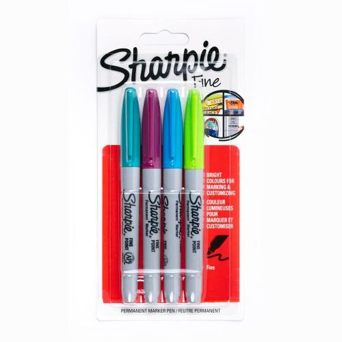 Sharpie 4'lü Permanent Marker Set S0842500 2607
