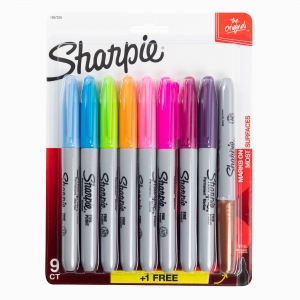 Sharpie - Sharpie 9′lu Permanent Marker Fine Point Set 1937229 1177