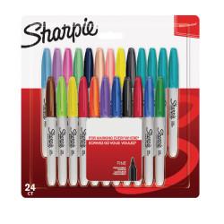 Sharpie - Sharpie Color Burst Fine Permanent Marker 24'lü