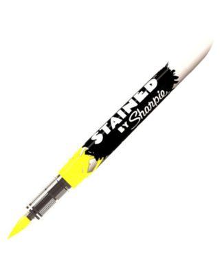 Sharpie Fırça Uçlu Tekstil Kalemi Neon Sarı