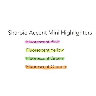 Sharpie Mini Accent İşaretleme Kalemi