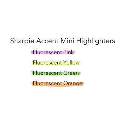 Sharpie Mini Accent İşaretleme Kalemi 3785