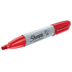Sharpie - Sharpie Permanent Marker Kesik Uç Kırmızı