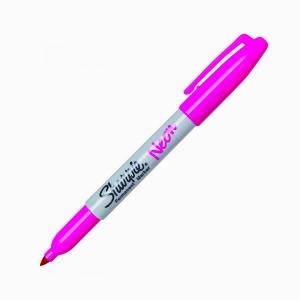 Sharpie - Sharpie Permanent Marker Neon Pembe 1322