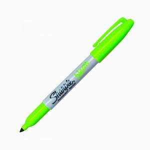 Sharpie - Sharpie Permanent Marker Neon Yeşil 1346
