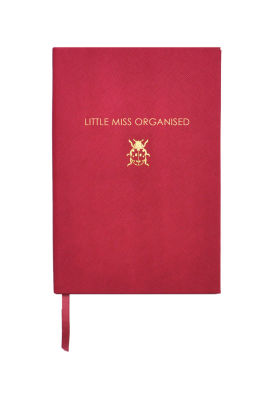 Sloane Staionery Little Miss Organised Çizgili Defter
