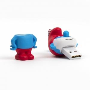 H&S - Smurfs 8GB USB Flash Drive Papa Smurf 4739 (1)