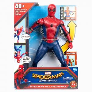 Spider Man - Spider-Man Tükçe Konuşan Dev Figür B9691 8021