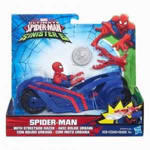 Spider Man - Spider-Man Web City Araç ve Figür 4254