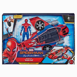 Spider Man - Spiderman Far From Home Spiderjet ve Spiderman Figürü 6380
