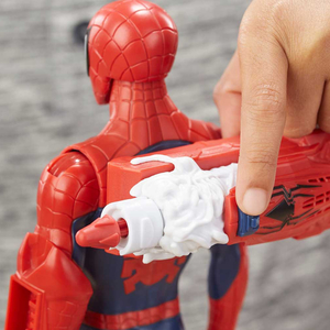 Spider Man - Spiderman Titan Hero Power Fx Spiderman Figür 3907 (1)