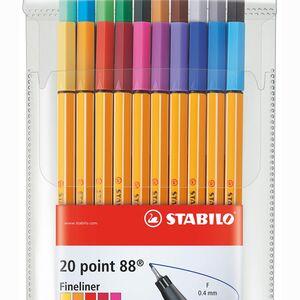 Stabilo Point 88 20'li Fineliner Set 2405 - Thumbnail