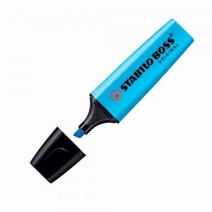 Stabilo - Stabilo Boss Original İşaretleme Kalemi Mavi 70/31 3634