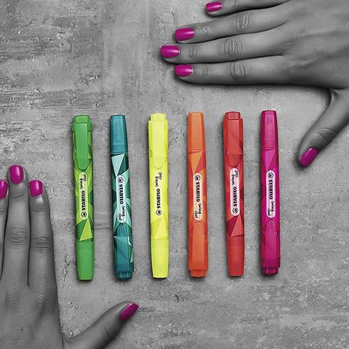 Stabilo Color Matrix Swing Cool İşaretleme Kalemi Pembe 9089
