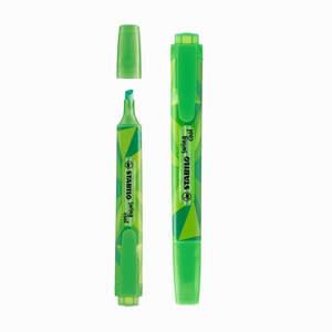 Stabilo - Stabilo Color Matrix Swing Cool İşaretleme Kalemi Yeşil 9058