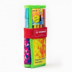 Stabilo - Stabilo Color Mix Pen 68 25′li Rulo Set 2546