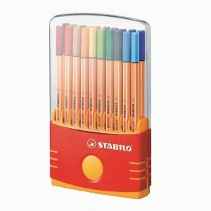 Stabilo - Stabilo ColorParade Point 88 20'li Fineliner Set 8820-03 7135