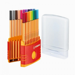 Stabilo - Stabilo ColorParade Point 88 20'li Fineliner Set 8820-03 7135 (1)