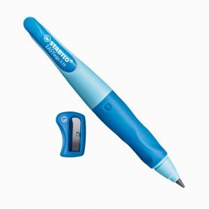 Stabilo - Stabilo EASYergo 3.15mm HB Sol El Kalemi Mavi-Açık Mavi 5832