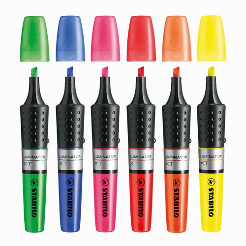 Stabilo Luminator XT Likit İşaretleme Kalemi Kırmızı 71/40 7125