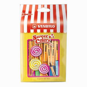 Stabilo Point 88 Mini Sweet Colors 15'li Fineliner Set 688/15-051 0321 - Thumbnail