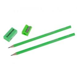 Staedtler - Staedtler Kurşun Kalem Seti HB Yeşil