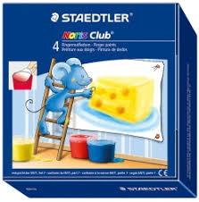 Staedtler - Staedtler Noris 4'lü Parmak Boyası