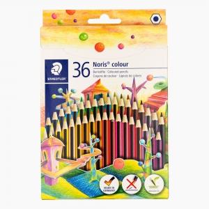 Staedtler - Staedtler Noris Colour Wopex 36'lı Kuru Boya Seti 185 CD36 8734