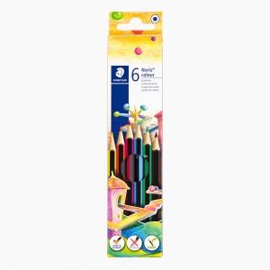 Staedtler - Staedtler Noris Colour Wopex 6'lı Kuru Boya Seti 185 C6 5155