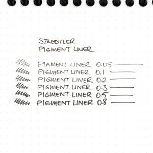 Staedtler - Staedtler Pigment Liner 6'lı Çizim Kalemi Seti 308 SB6P 8356 (1)