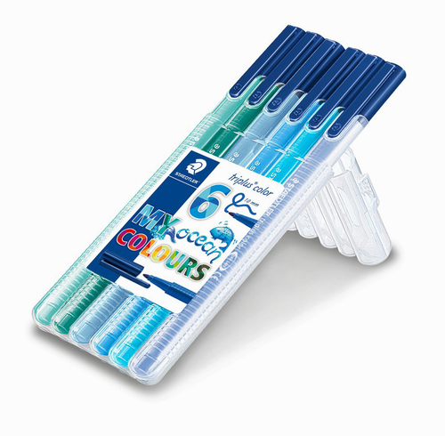 Staedtler Triplus Color My Ocean Colours 6'lı Set 1.0 mm 323 SB6CS5 9991