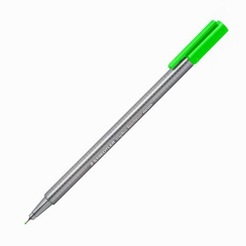 Staedtler Triplus Fineliner Neon 0.3mm Neon Green 334-501 3564