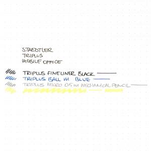 Staedtler - Staedtler Triplus Mobile Office 4'lü Kalem Seti 34 SB4 0004 (1)