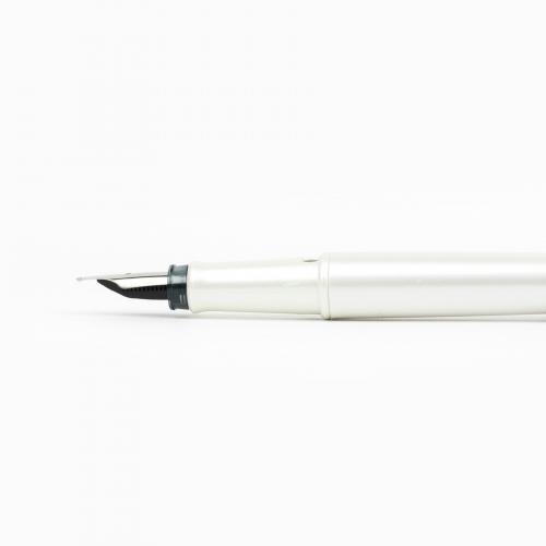 Steelpen Pearl İnci Beyazı Dolma Kalem