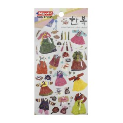 Bigpoint - Sticker Korean Traditional Clothes