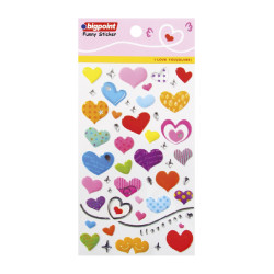 Bigpoint - Sticker Lovely Hearts (I Love You-Silver)