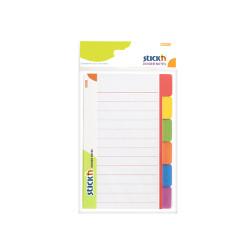 Stickn - Stickn Divider Yapışkanlı Not Kağıdı 21462