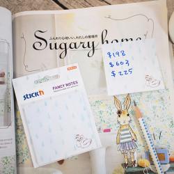 Stickn - Stickn Fancy Yapışkanlı Not Kağıdı Kuğu 21736 (1)