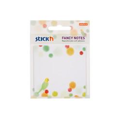 Stickn - Stickn Fancy Yapışkanlı Not Kağıdı Muhabbet Kuşu 21732