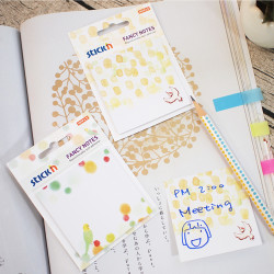 Stickn - Stickn Fancy Yapışkanlı Not Kağıdı Muhabbet Kuşu 21732 (1)
