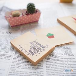 Stickn - Stickn Kraft Yapışkanlı Not Kağıdı 21638 (1)