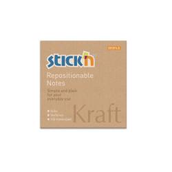 Stickn - Stickn Kraft Yapışkanlı Not Kağıdı 21639