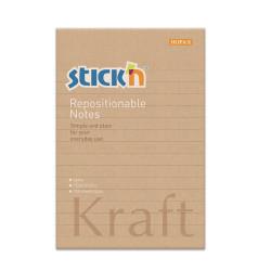 Stickn - Stickn Kraft Yapışkanlı Not Kağıdı 21641