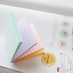Stickn - Stickn Magic 4'lü Pastel Yapışkanlı Not Kağıdı 21577 (1)