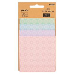 Stickn - Stickn Notes Yapışkanlı Not Kağıdı Pembe 28073