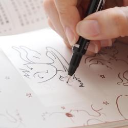 Stickn - Stickn Şeffaf Yapışkanlı Not Kağıdı Beyaz 21708 (1)