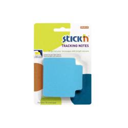 Stickn - Stickn Tracking Yapışkanlı Not Kağıdı Mavi 21479