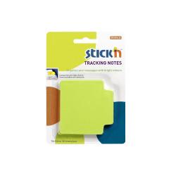 Stickn - Stickn Tracking Yapışkanlı Not Kağıdı Yeşil 21480