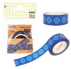 Stickn - Stickn Washi Tape Mavi