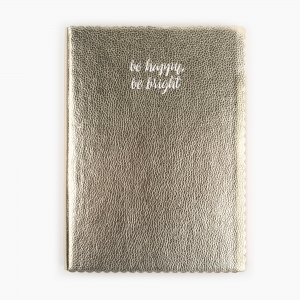 Syloon - Syloon A5 be happy be bright Çizgili Defter 8788